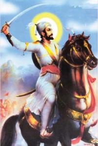 Shivaji Maharaj on horse