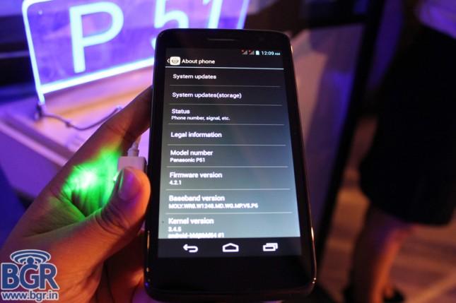 Panasonic launches P51 smartphone5